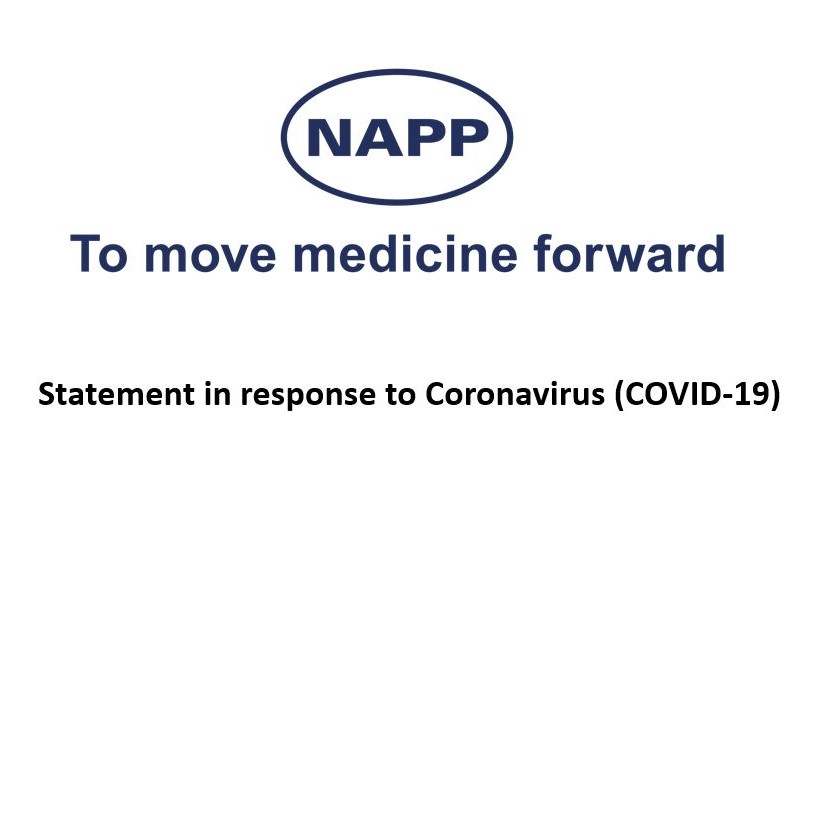 Image for Latest statement from Napp Pharmaceuticals on COVID-19
